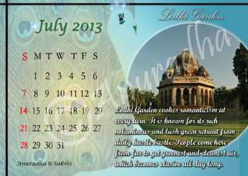 Calender Graphics Design