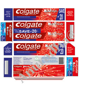 Colgate Illustration